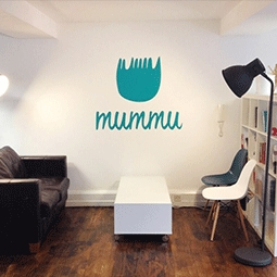 Sticker printing - company wall stickers