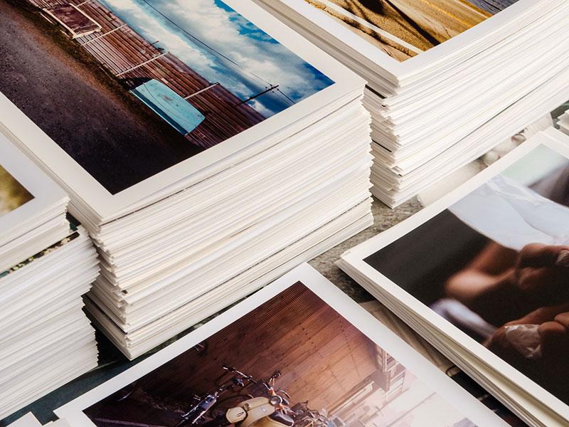 print run of fine art prints