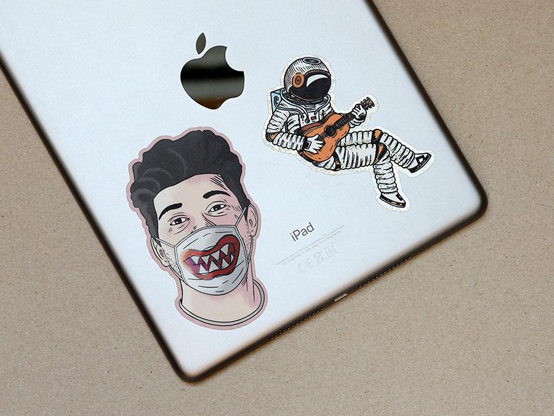 ipad sticker printing