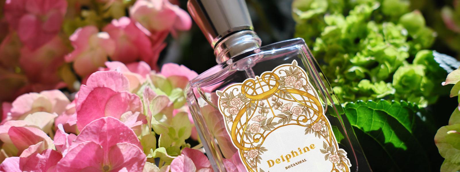 perfume bottle label printing