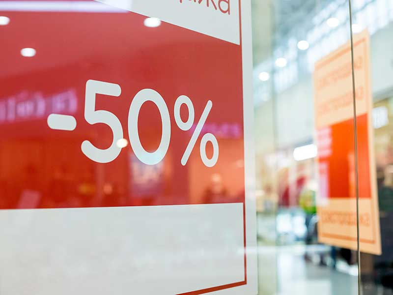 retail posters and signage printers