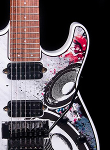 Custom guitar decal graphics list image