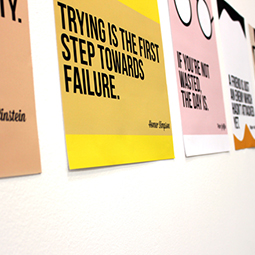 motivational poster printing
